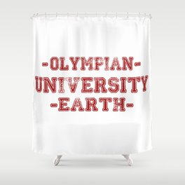 O.U.E Shower Curtain