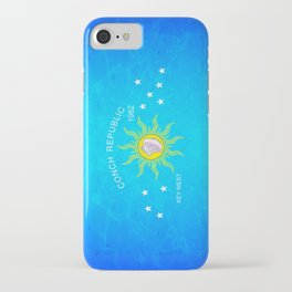 The Conch Republic Flag iPhone Case