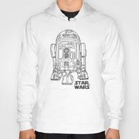 r2d2 Hoodies featuring r 2 d 2 by Vickn