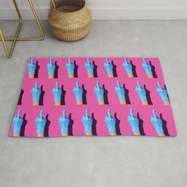 Latex fighters Rug