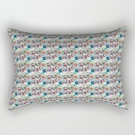 High School Cool Rectangular Pillow
