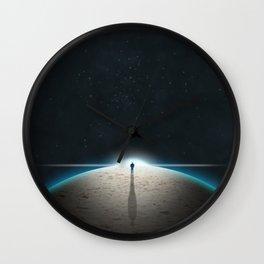 The Sandplanet Wall Clock