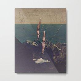 High diving Metal Print