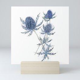 Sea Holly Mini Art Print