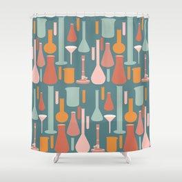 Laboratory Glassware No. 4 Shower Curtain