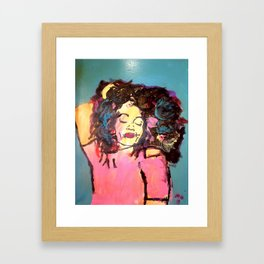 I am Black Girl Magic Framed Art Print