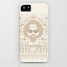 Knitted Dude iPhone Case
