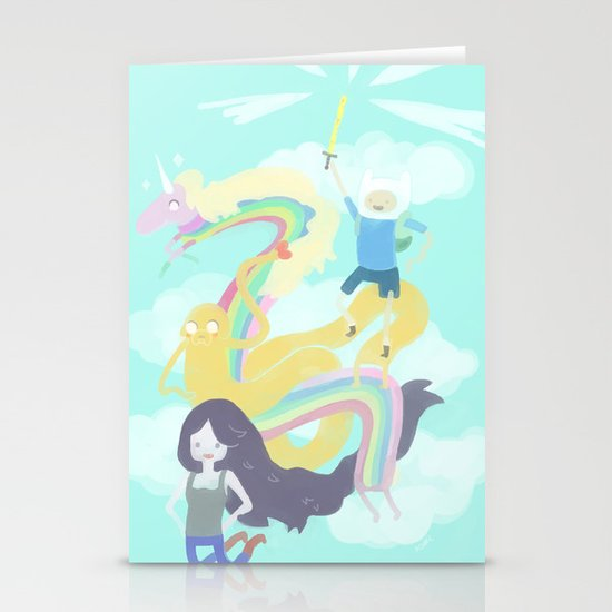 Time for an Adventure Stationery Cards