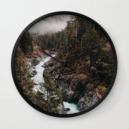 Wilderness-green nature Wall Clock