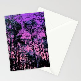 Forest (Sunset) Stationery Cards