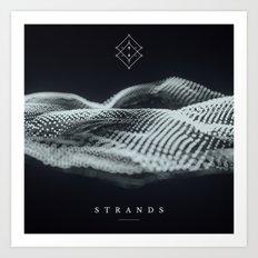 170202 / STRANDS Art Print