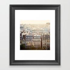 Dans Mon Reve de Paris Framed Art Print