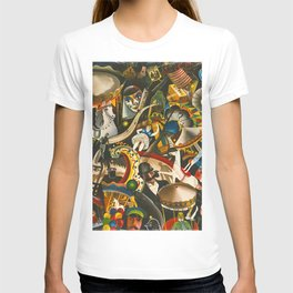 Classical Masterpiece 'The Fair in Utrecht by Pyke Koch T-shirt