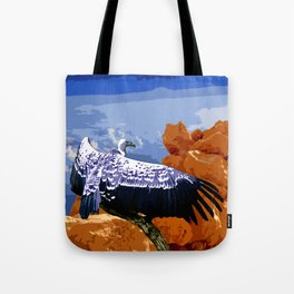 Vulture Spirit Guide Tote Bag
