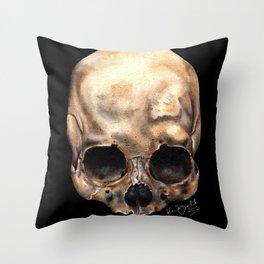 Alas, Poor Yorick! Throw Pillow