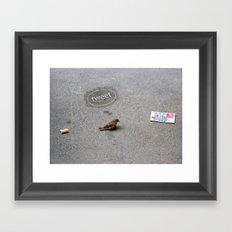 Tweet Tweet Framed Art Print