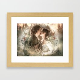 Claire & Jamie Framed Art Print