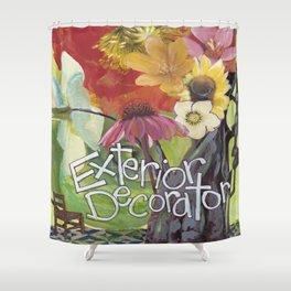 Exterior Decorator Shower Curtain