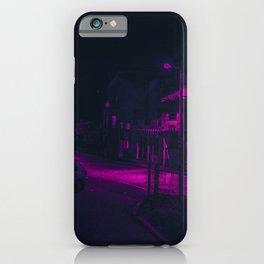 Cyberpunk Street Car iPhone Case