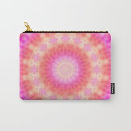 Light of Hope Mandala (sunshine colors) Carry-All Pouch
