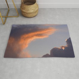 Exotic Cloud At Last Gasp of Sunset Rug