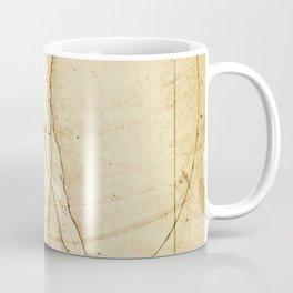 Vitruvian Man Drawing by Leonardo da Vinci Coffee Mug