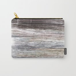 Gray abstract watercolor Carry-All Pouch