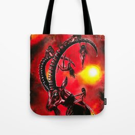 Bitches keep summon me! Tote Bag