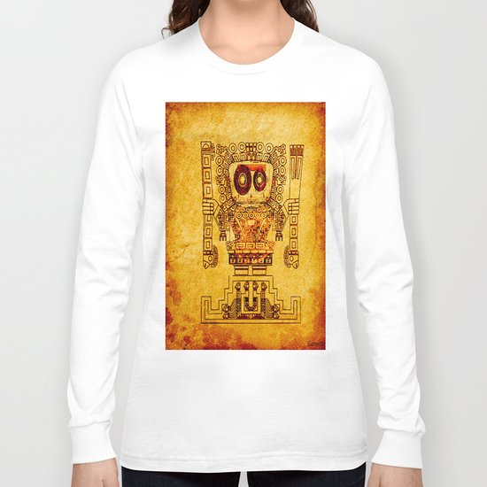 The last divinity musical of the Mayan empire Long Sleeve T-shirt