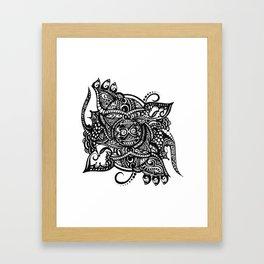 wise owl Framed Art Print