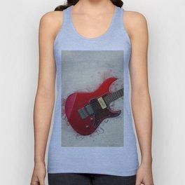 Electric Guitar Art Unisex Tank Top