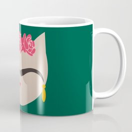Frida the Cat Coffee Mug
