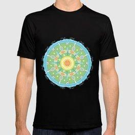 play outdoors mandala T-shirt