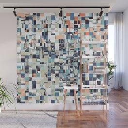 Abstract Jumbled Mosaic Wall Mural