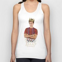 notorious big Tank Tops featuring Notorious BIG by Alpha-Tone