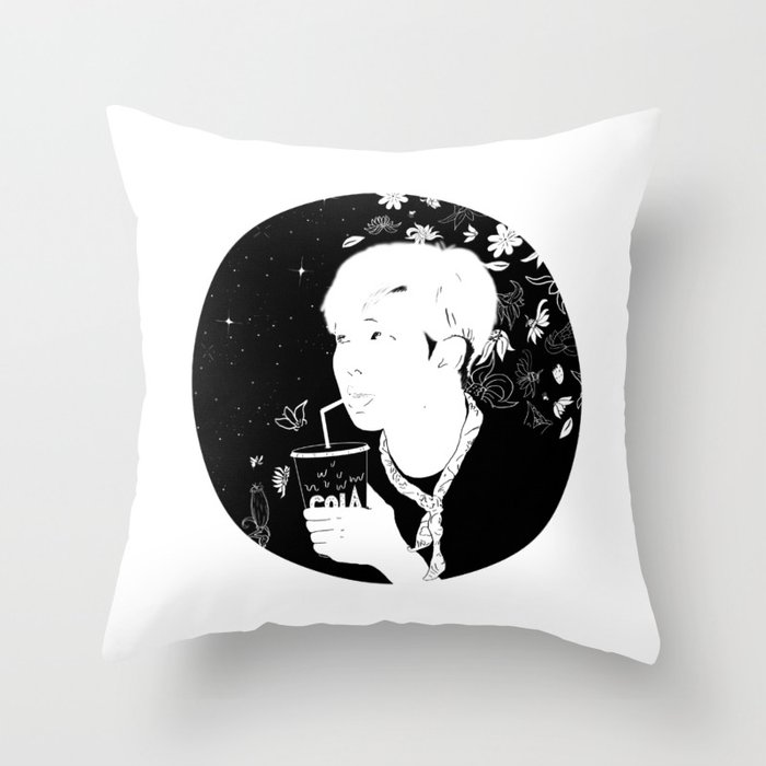 Blood Sweat & Tears Throw Pillow