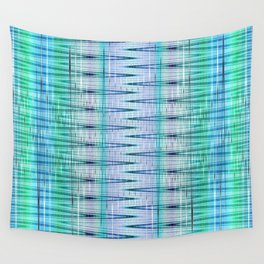 pattern blue no. 4 Wall Tapestry