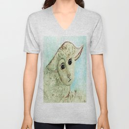 Just One Little Lamb Unisex V-Neck
