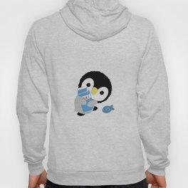 """Fluffy Little Penguin """"Milk"""" Hoody"""