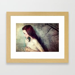 Her Dreams Became So Small Framed Art Print