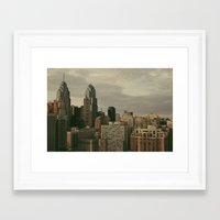 philadelphia Framed Art Prints featuring Philadelphia by Katie Leva