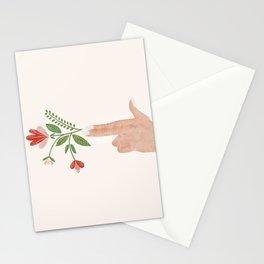 Floral Pistol Stationery Cards