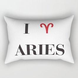 I heart Aries Rectangular Pillow