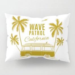 Wave Patrol California Pillow Sham