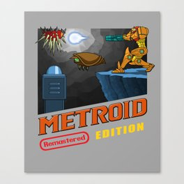 Metroid Remastered Edition Canvas Print
