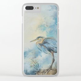 Shore Bird 8664 Clear iPhone Case