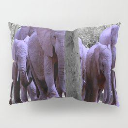 Purple guests Pillow Sham