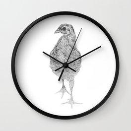 chick, drawing Wall Clock