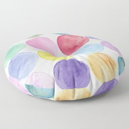 dotted and well organized Floor Pillow