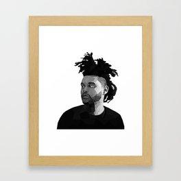 The Weeknd Framed Art Print